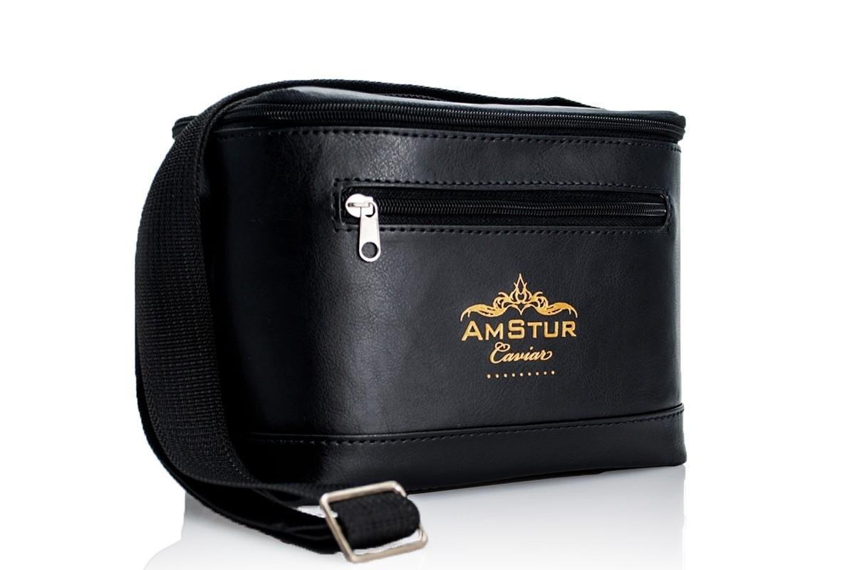 d1e7e5e0eb4af Insulated Leather Caviar Bag