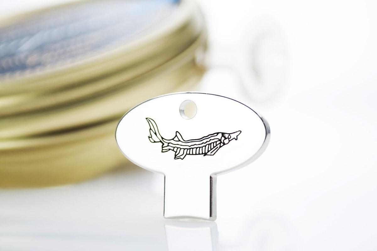 Stainless Caviar Tin Opener
